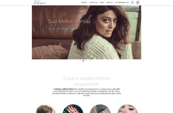 Sites focados em Espaço Juliana Paes