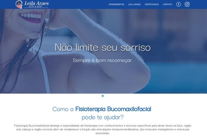 Sites focados em Leila Araes Fisioterapia
