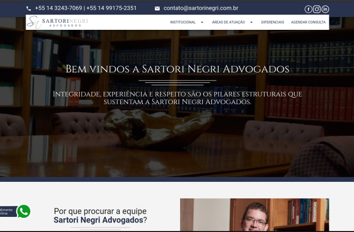 Sites focados em Sartori Negri Advogados