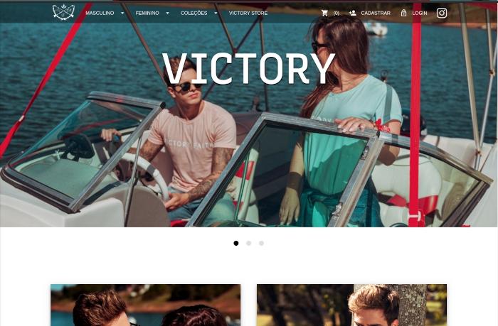 Sites focados em Victory Faith